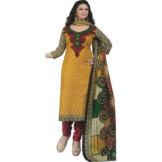 Shree ganesh cotton printed salwar suit
