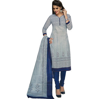 Shree ganesh cotton printed salwar suit