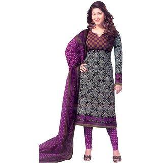 Shree Ganesh Cotton Printed Salwar Dupatta Material (Un-Stitched)