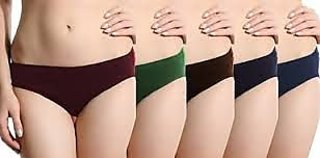 Pack Of 5 Panties ( Color May differ)