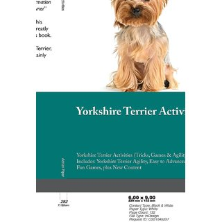 Yorkshire Terrier Activities Yorkshire Terrier Activities (Tricks, Games  Agility) Includes