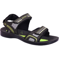 AZTEC Unisex Light Green, Mehandi Synthetic Leather And PU Floater Sandals (Size 6 UK/IND)