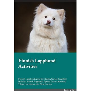 Finnish Lapphund Activities Finnish Lapphund Activities (Tricks, Games  Agility) Includes