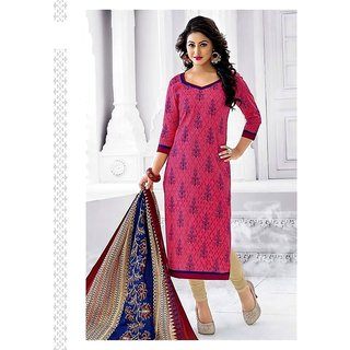 d24683fe7c Buy New Stylish 100 Color Combination Printed Cotton Unstitched Dress  Material Online - Get 38% Off