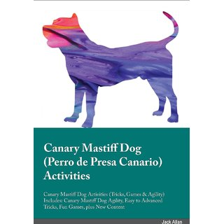Canary Mastiff Dog Perro de Presa Canario Activities Canary Mastiff Dog Activities (Tricks, Games  Agility) Includes