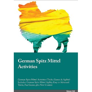 German Spitz Mittel Activities German Spitz Mittel Activities (Tricks, Games  Agility) Includes