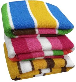 xy decor Cotton Bath Towel - 3Pcs