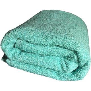 xy decor Cotton Bath Towel  (1 pcs bath towel, green)