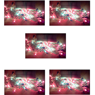 Multicolor Rice light Pack 5 Pcs