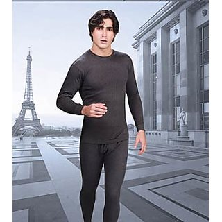 7abfa94587 Buy Alfa Oswal Men s Thermal Wear Set RN Top+Lower Online - Get 56% Off