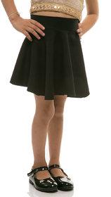 Rimsha Black viscose skirt for kids