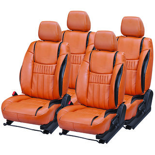 Pegasus Premium Pu Leather Seat Cover For Toyota Etios Cross