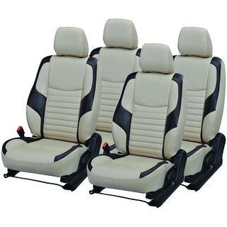 Pegasus Premium Pu Leather Seat Cover For Toyota Etios Cross
