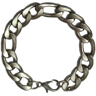 Men Style Best Selling Gents 15 mm Silver  stainless Steel Link Bracelet