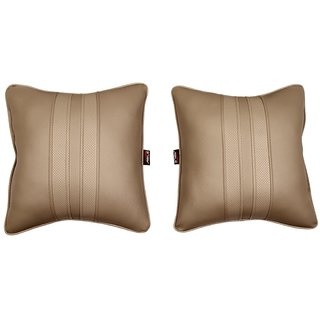 Able Sporty Cushion Seat Cushion Cushion Pillow I-Grey For RENAULT KWID Set of 2 Pcs