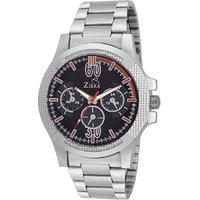 Ziera Round Dial Silver Analog Watch For Men -Zr-2265