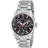 Ziera Round Dial Silver Analog Watch For Men -Zr-2275