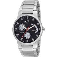 Ziera Round Dial Silver Analog Watch For Men -Zr-2885