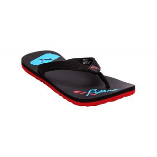 Puma Popart Black Flip Flops