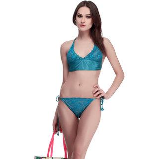 a386268abaf Buy Belle Nuits Women s Blue Satin Bra Panty Set Online - Get 69% Off