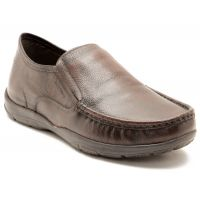 Red Tape Men's Brown Slip On Casual Shoes - 98668421