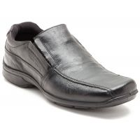 Red Tape Men's Black Slip On Casual Shoes