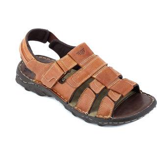 Red Tape Mens Tan Casual Sandals