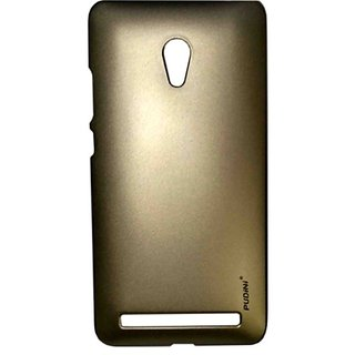 Pudini Metal Back Cover For Asus Zenfone 6-Gold