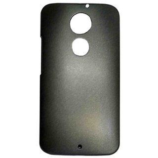 Pudini Metal Back Cover For Motorola Moto X(2nd Gen)-Black