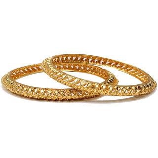 Lakshya Gold Plated zavri Kangun - U-04