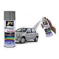 F1 Aerosol Spray Paint Silver 450Ml - Car/Bike Multi Purpose