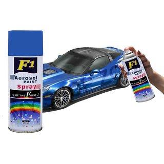 love4ride F1 Aerosol Spray Paint Blue 450ml - Car/bike Multi Purpose