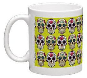 dHiNcHaK Doodled Ceramic Mugs