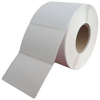 BUY HIGH QUALITY LABELS, ORIGINAL AVERY CHROMO BARCODE LABLES 100mmX100mm, 1UP Across, 1 inch Core, 500 Lables in 1 Roll