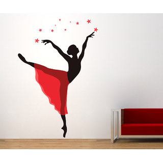 Creatick Studio Dancing Lady Wall Sticker
