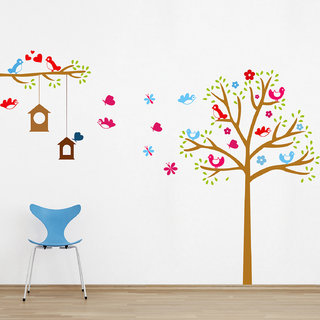 Creatick Studio Tree and Branch Wall Sticker