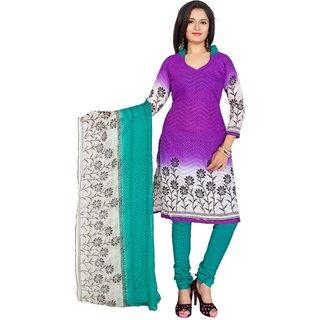 Trendz Apparels Pink Jacquard Straight Fit Salwar Suit