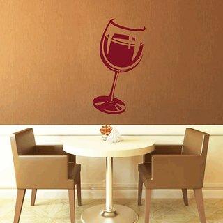Creatick Studio Wine Glass Art Wall Decal