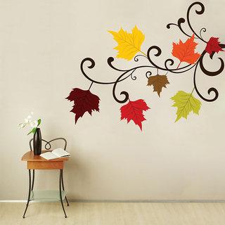 Creatick Studio Autumn Flowers Wall Decal