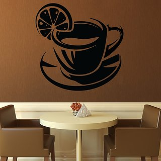 Creatick Studio Lemon Tea Cup Wall Decal