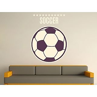 Creatick Studio Football In A Wall Decal