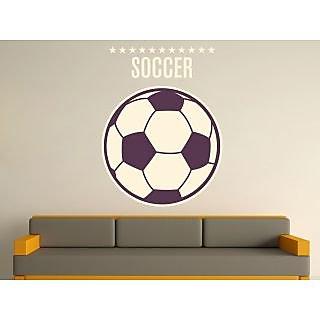 Creatick Studio Football In A Wall Decal