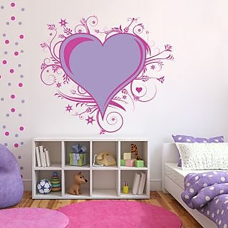Creatick Studio Love Floral Wall Decal