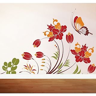 Creatick Studio Colorful Butterfly Wall Decal