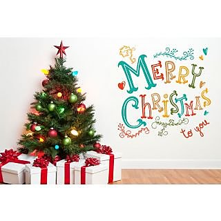 Creatick Studio Merry Christmas Wall Decal