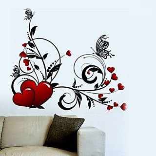 Creatick Studio Swirl Heart Wall Sticker