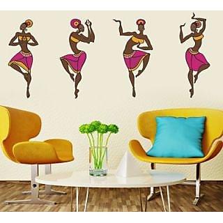 Creatick Studio Dancing Ladies Wall Sticker