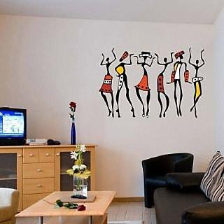 Creatick Studio Dancing peoples Wall Sticker
