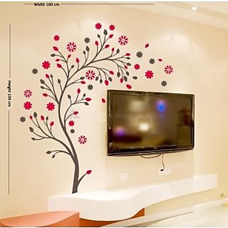 Creatick Studio Abstract Flowers Wall Sticker