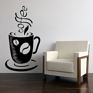 Creatick Studio Coffee Bean  Cup Wall Decal
